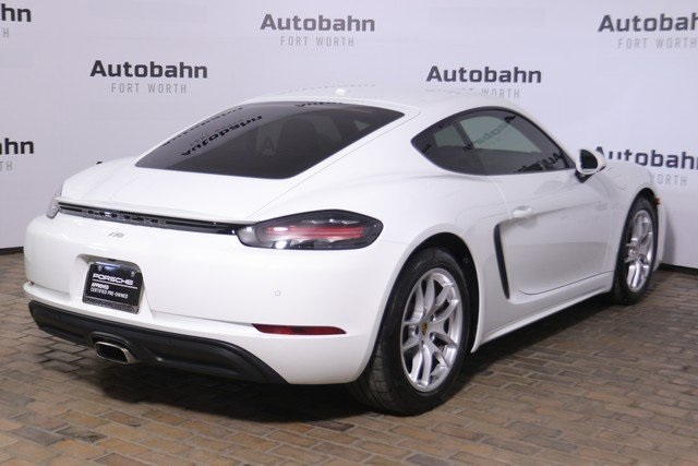 Certified Pre-Owned 2019 Porsche 718 Cayman